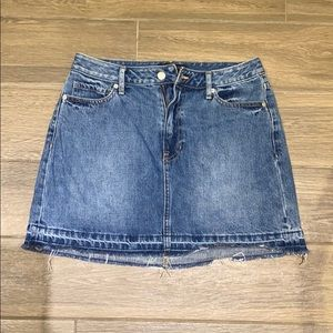 Banana Republic jean skirt size 4